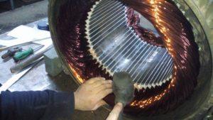 Bingöl fırçalı dc motor Sarımı